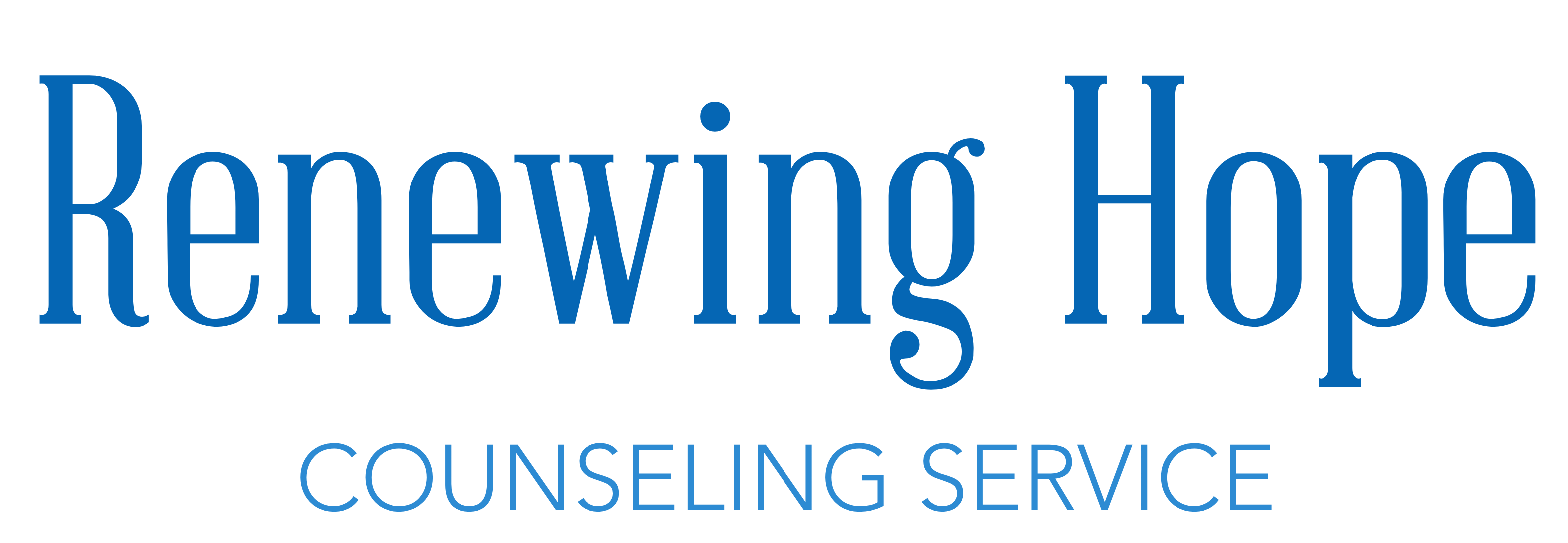 Renewing Hope Counseling Services